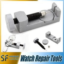 Wholesale Watch adjuster repair tool For Watch and bracelet Watch Repair Adjuster Spring Bar Band Tool Link Pin Removal Tool with retail package