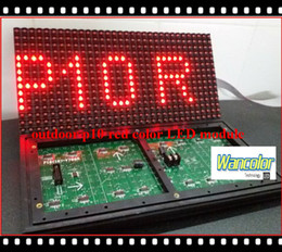 free shipping wholesale price p10 outdoor single red color led text moving sign module 320*160mm size for LED scrolling text sign