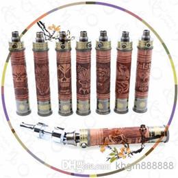 precio barato cigarrillo electrónico de madera Mod E Cig VV de madera Mod voltaje variable de la batería En el envío libre vendedor desde mod baterías baratas proveedores