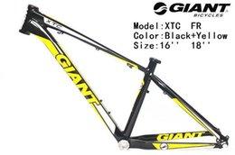 Wholesale send by EMS giant quot x16 quot quot XTC FR aluminum alloy frame Ultra light mountain bike frame MTB frame