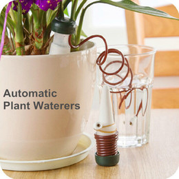 Wholesale 12 Indoor auto drip irrigation watering system Automatic plant waterers for houseplant seen TV Novelty households dandys
