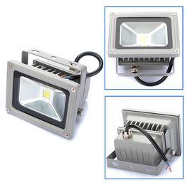 New AC85-265V 10W Waterproof LED Floodlights Wash Wall Flood Light Spotlight Garden Outdoor Lighting Square Lamp Bulb Cold White