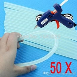 Wholesale Lowest Price mmx100mm Clear Glue Adhesive Sticks For Hot Melt Glue sticks for Glue Gun Car Audio Craft Alloy Accessories