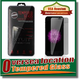 Wholesale For Iphone Tempered Glass Screen Protectors For Iphone Plus Iphone D Explosion Shatter Screen Protector Galaxy ON5 Film In box