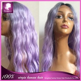 Wholesale Synthetic Ombre ton Full Machina Made Wig Body Wave Glueless African American Wigs Heat Resistant Hair Wigs in stock