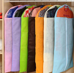 Wholesale Fashion Hot Brand New Breathable Suit Dress Cover Garment Travel Closet Storage Bag Protector