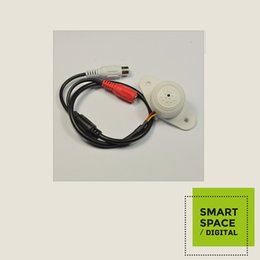 Mini CCTV Wide Range Microphone for Security Camera Audio Surveillance DVR