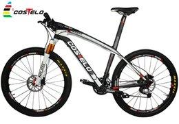 Wholesale Top Sale COSTELO MASSA Full Carbon Fiber MTB Bike Mountain bike Bicycle complete er er Carbon MTB bike frame better LOOK986 carbon bike