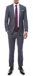 Milano Mens Grey Slim Fit Groom Tuxedos 2016 New Groomsmen Mens Wedding Prom Suits Custom Made (Jacket+Pants+Tie+Vest) Custom Made