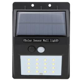 Wholesale Bright Outdoor Solar Lights Motion Sensor Detector No Battery Required Weatherproof Wireless Exterior Security Outdoor Lighting