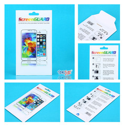 1000pcs Wholesale Custom Colorful Paper Packaging Package Retail Box For iPhone Samsung Tempered Class Screen Protector