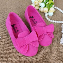 Wholesale Hot Sales Casual Girls Children s Shoes Product Children Shoes Girls Single Bowknot Baby Flowers Princess Shoes Size VY0008 salebags