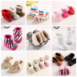 Wholesale Kind Baby Shoe - All Kinds Of Newborn Baby Girls Boy Infant Super Keep Warm Snow Boots Crib Shoes Toddler Footwear Fleece Prewalker Boots Booties