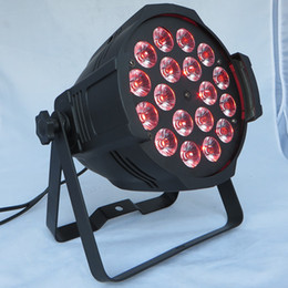 Free shipping Par can Par 64 Indoor LED Wash Light 18X15W RGBAW 5-in-1 DJ Party Stage Lighting