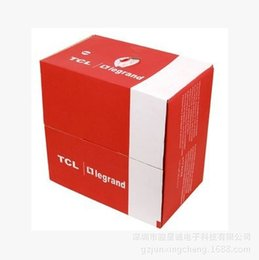 Wholesale TCL standard UTP network cable TCL0 TCL standard twisted pair wiring works