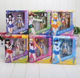 Wholesale Anime cm Sailor Moon Ami PVC Action Figure Toy Children s Gift styles can choose