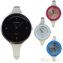 New Women's Casual Style Bangle Elegant Quartz Wrist Watch Bracelet Watch 001M