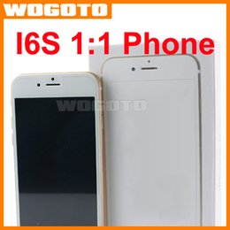 Wholesale 1 Goophone I6S Phone MTK6572 Dual Core Ghz Inch M GB Smart Phone Show GB I6S Cell Phone Android
