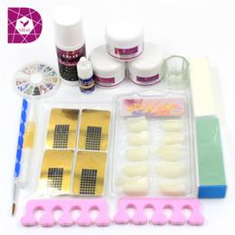 Wholesale Pro Nail Art Tips Kit DIY Acrylic Nail Liquid Powder Nail Art Tool Set