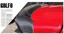 Wholesale Fit for Volkswagen Golf MK6 GTI R20 dedicated wing modifications REVOZPORT carbon firber rear spoiler