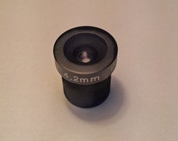 "4.2mm 73 Degree CCTV Lens IR 1 3 ""Megapixel HD FIXED LENS M12x0.5 For CCTV Camera AMTV4.2BW"