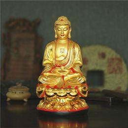 Wholesale Buddhist crafts gilded ornaments big day if centimeters Medicine Buddha Sakyamuni Buddha Amitabha image