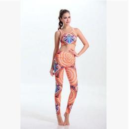 Wholesale 20 Design Yoga Clothes Sets Yoga Printed Sets Outfits Sport Yoga Tank Top Fitness Yoga Pants Sets Yoga Wear Women Sportswear