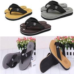 Wholesale 2016 Bakham Men Flats Flip Flops Leisure Casual Flat Soft Summer Flip Flops EVA Massage Beach Slipper Non Slip Reef Sandals D785L