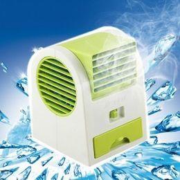 Wholesale Vietnam USB battery dual fan air conditioning fragrance fan dual power Usb mini turbo fan