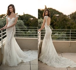 Lace Backless Emanuel 2016 Beach Wedding Dresses Cap Sleeves Mermaid Wedding Gowns Sexy Vintage Bridal Dresses