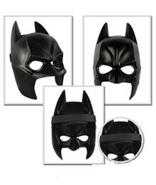 Machos negros en Línea-100pcs 2015 Bienes Airsoft máscara de Darth Vader Costume Party máscara de Halloween de la historieta Simulación machos adultos Batman Negro Plástico Y La mitad de la cara