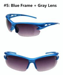 Wholesale Hot Motocycle Cycling Riding Running Bicycle Bike Sports Eyewear Fashion Sports UV Protective Goggles Sunglasses