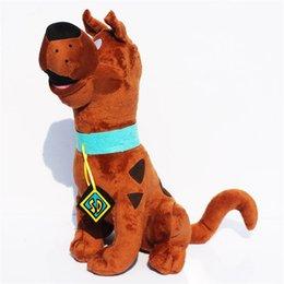 Купить Онлайн Свободный материал собаки-Скуби Ду собаки куклы 13inch мягкий плюш мягкая игрушка новая детская Подарок высокого качества Свободная перевозка груза