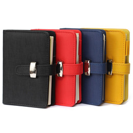 Wholesale Best Price Best Promotion A5 Personal Pocket Organiser Planner PU Leather Cover Diary Notebook Spiral