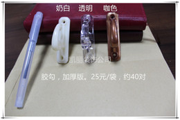 Wholesale-Wholesale plastic curtain wall hooks hook for hanging clothes hook