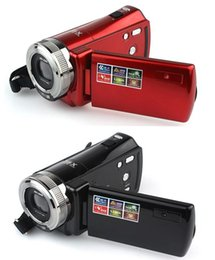 Wholesale DHL free HD Megapixel P TFT LCD x Digital Zoom High Definition Video Camera Recorder