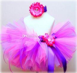 2016 Christmas Pink and Purple toddler tutu, baby tutu, baby photograghy prop baby girl skirt Petticoats