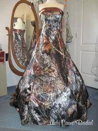 Real Picture Realtree Camo Wedding Dresses 2016 A Line Sweep Train Corset back Rode be Mariage Plus Size Elegant Bridal Gowns