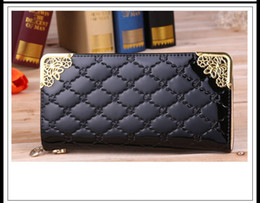 fashion lady women Wallet purse long Zipper Purse pu leather Luxury Clutch Wallets coin purses black red bag for women