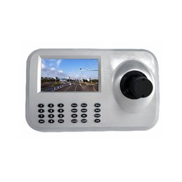 Wholesale 5inch Axis LCD IP PTZ Keyboard control IP High Speed Dome Camera D Joystick quot HD LCD Display Network PTZ Keyboard Controller