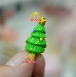 Wholesale Diy Doll House Small Furniture Finished Product Mini Christmas Tree Decoration Supplies Hut Miniature Fittings