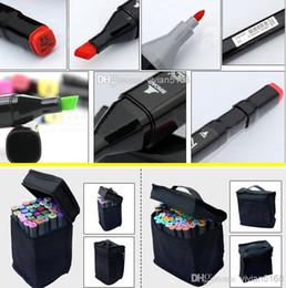 art mark pen 168 color Alcohol Marker pen soluble pen cartoon graffiti art copic sketch markers for designers finecolour markers