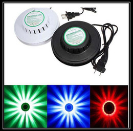 Wholesale black white Sunflower LED Light Magic Colors LEDs auto Voice Activated LED RGB Stage Light for Disco Stage home party