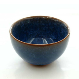 Wholesale Kamjove bowl Chinese antique ceramics traditional kiln ceramic crack cup high grade has the collection value