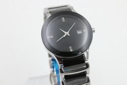 Wholesale brand cheap date quartz womens black ceramics BELT sport watch fashion new women watch stainless steel luxury wristwatch women s Watches