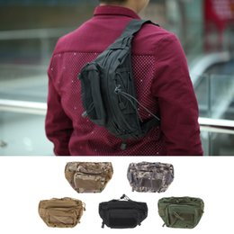 Wholesale Multi function Military Tactical Belt Waist Bag Bum Hip Fanny Pack Belly Bag for Hunting Soldier Riding Traveling Y0331