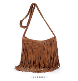 Wholesale cheap handbags uk fashion Fringed Tassel Female Shoulder Bag Women s Messenger Handbags Lady Cross Tote Bags Femme bag Z M0605