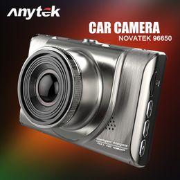 Cámaras de lentes de porcelana en Línea-Anytek A100 Full HD 1080 Mini coche DVR con zoom 6GA Lens / Cámara de coche de 170 grados Cámara de vídeo Recorder Night Vision Black Box