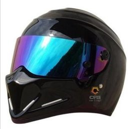 Wholesale 2015 NEW Motorcycle full face glass fiber reinforced plastic helmet ATV Stig SIMPSON Star Wars pig capacete DOT