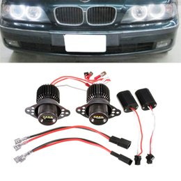Wholesale 1 Pair LM W CREE R5 LED Angel Eye Halo Light for BMW E90 E91 CLT_0B7